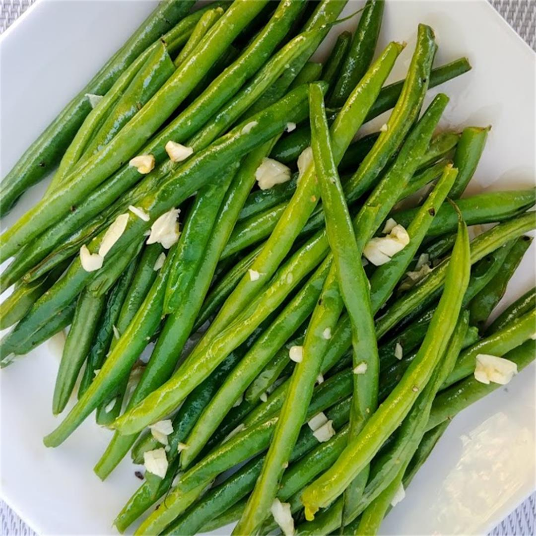 Buttered Garlic Green Beans