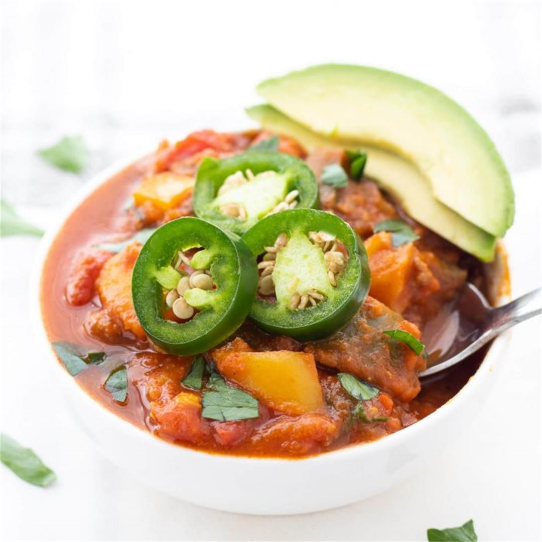 Whole30 Pumpkin Chili