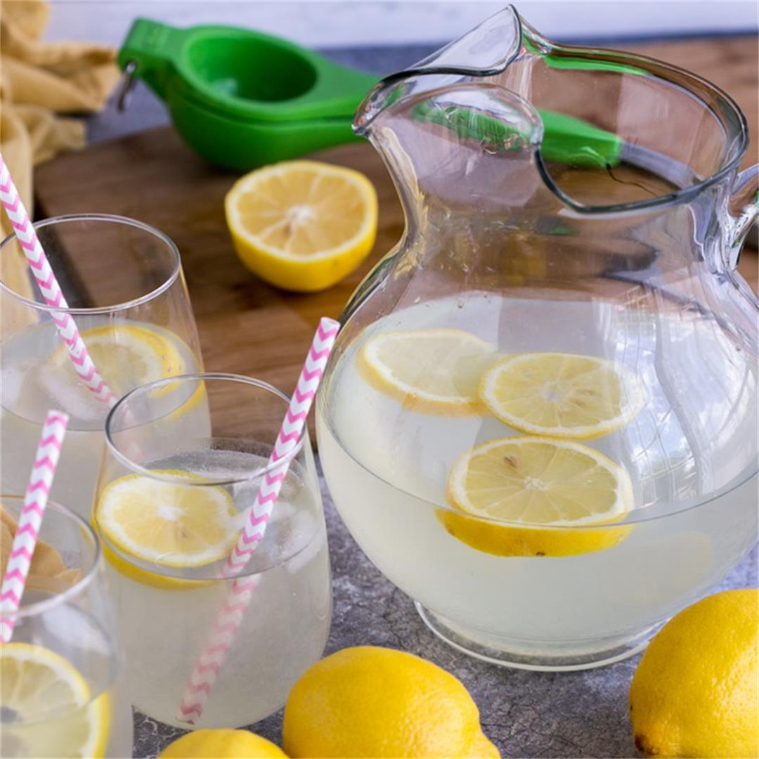 Sugar Free Fresh Squeezed Lemonade