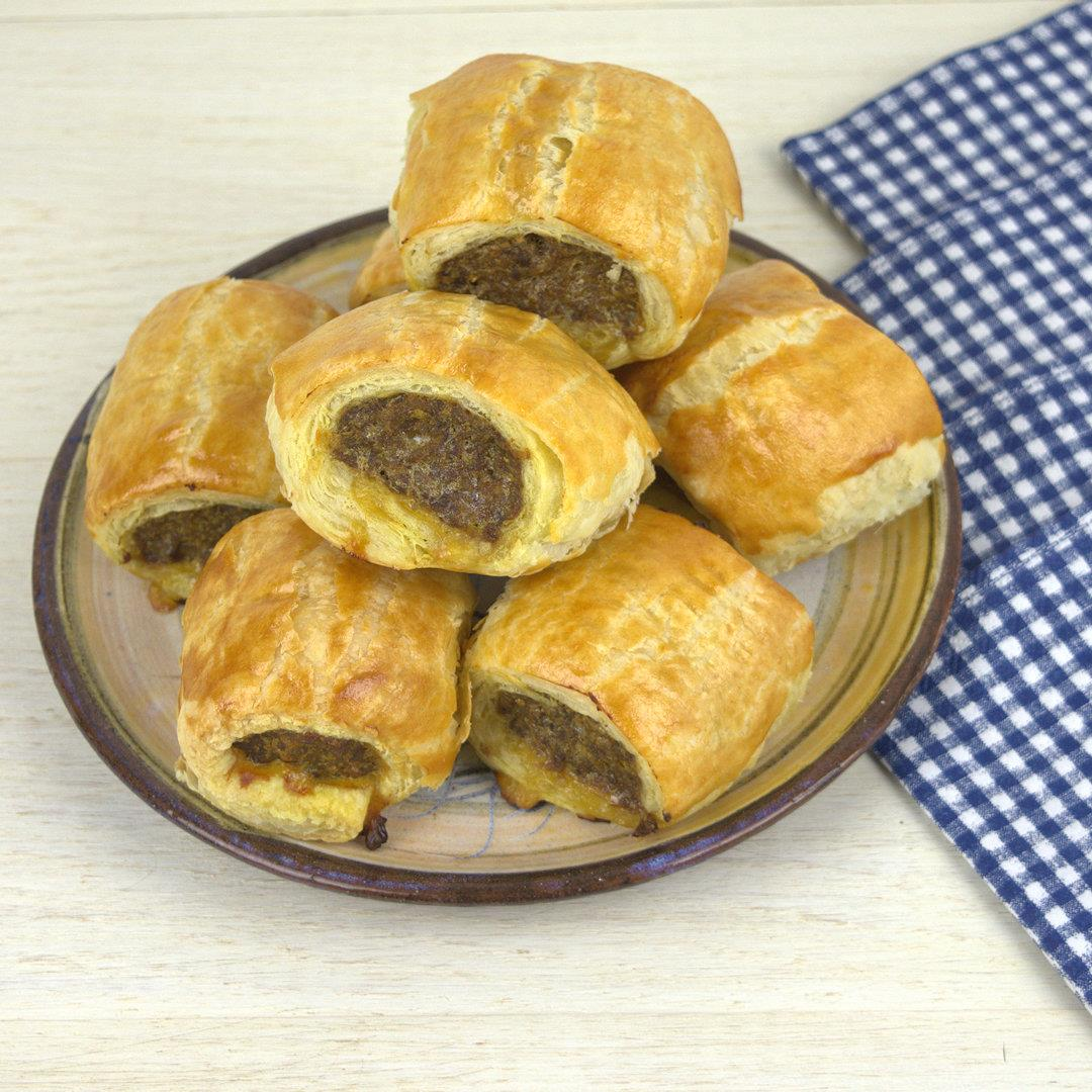 Mini Sausage Rolls – A Gourmet Food Blog