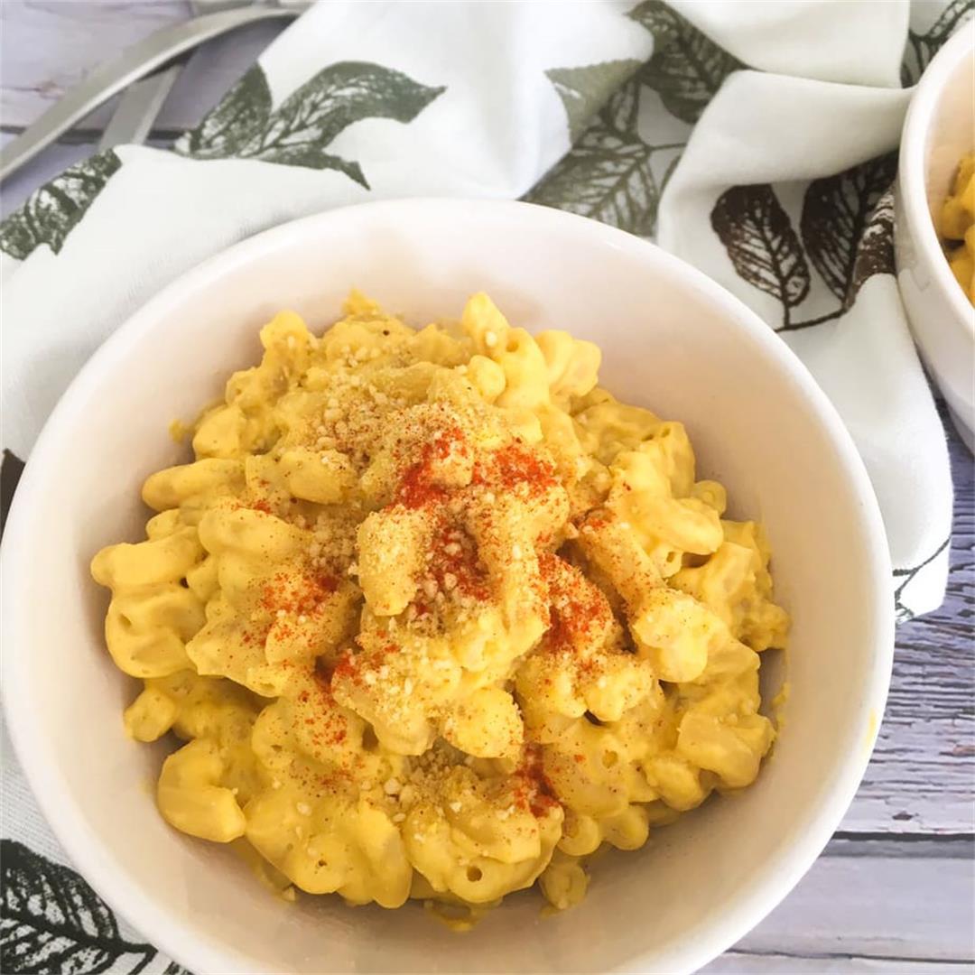 Butternut Squash Mac & Cheese [Vegan]