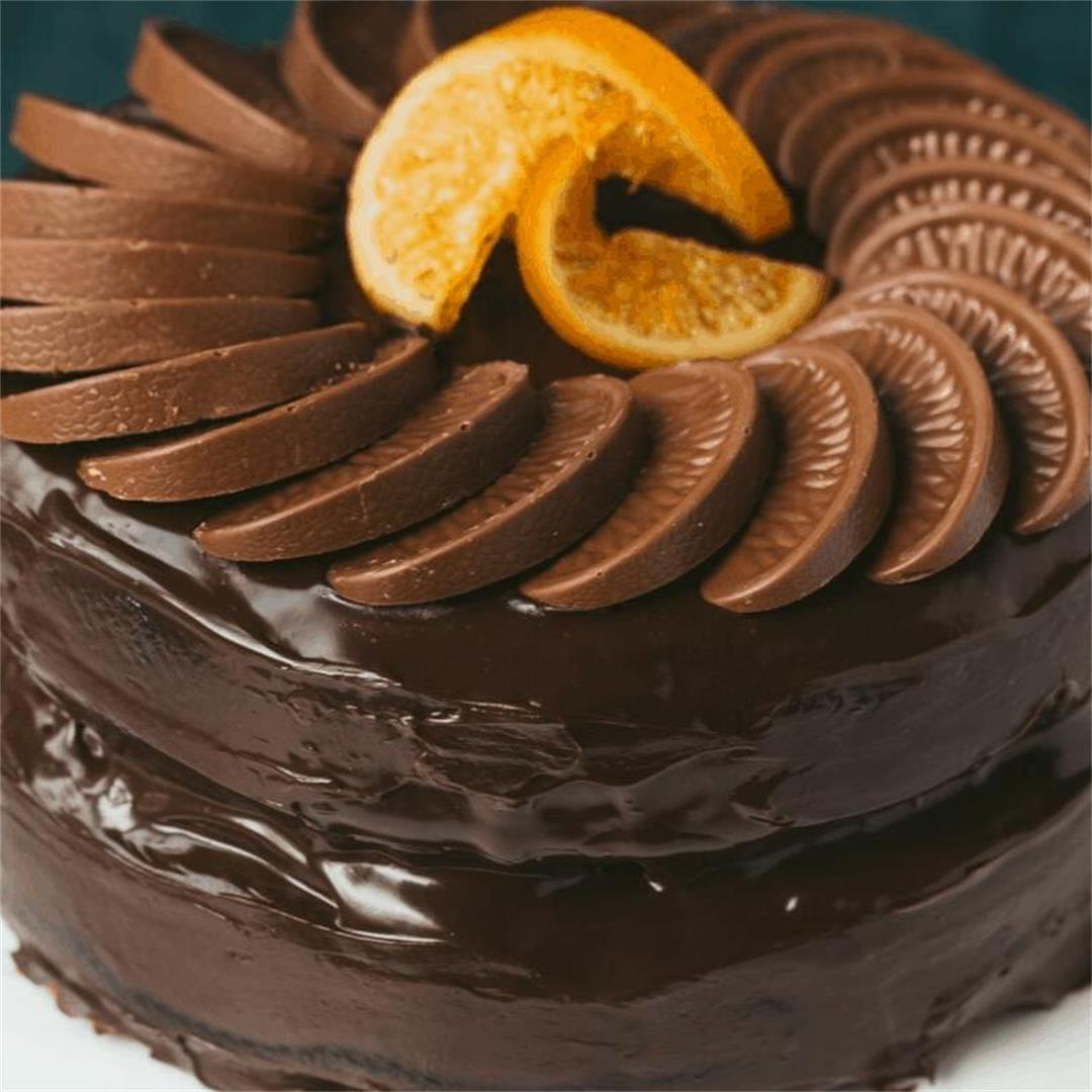 Terry's Chocolate Orange Cake with Chocolate Ganache