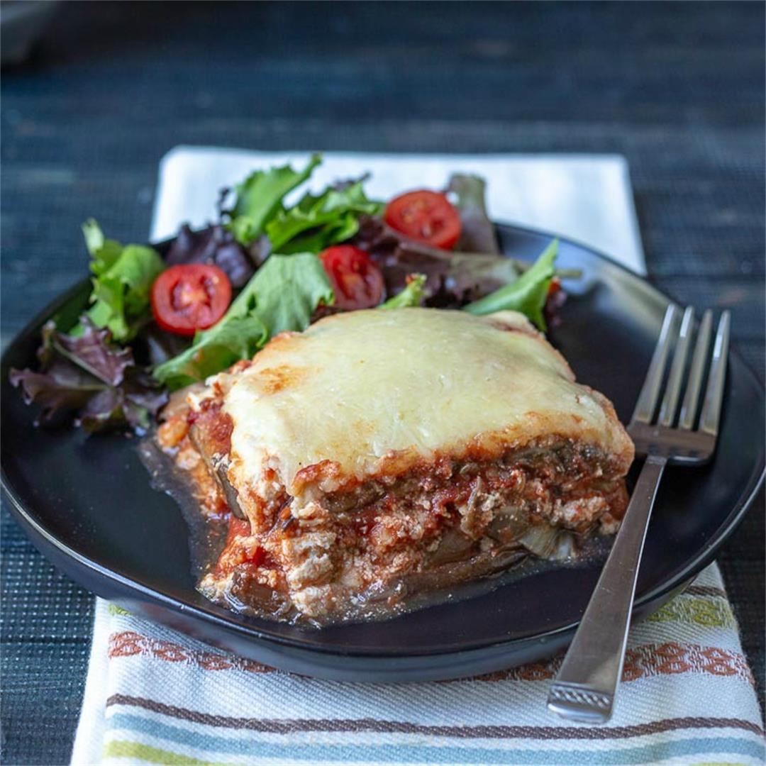 Low Carb Eggplant Lasagna