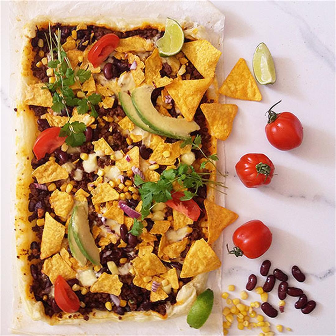 Tortilla Chips Breakfast Bake