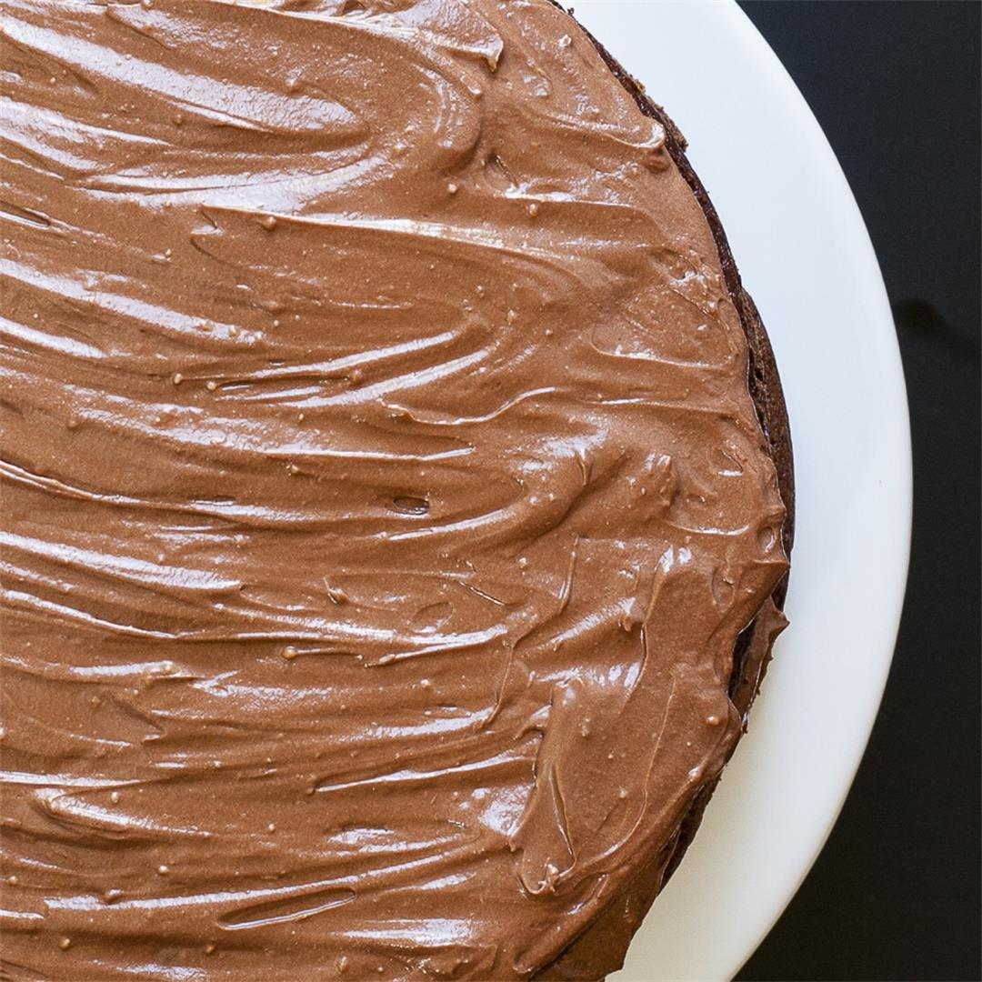 Vegan Chocolate Frosting (ONLY 2 ingredients!)