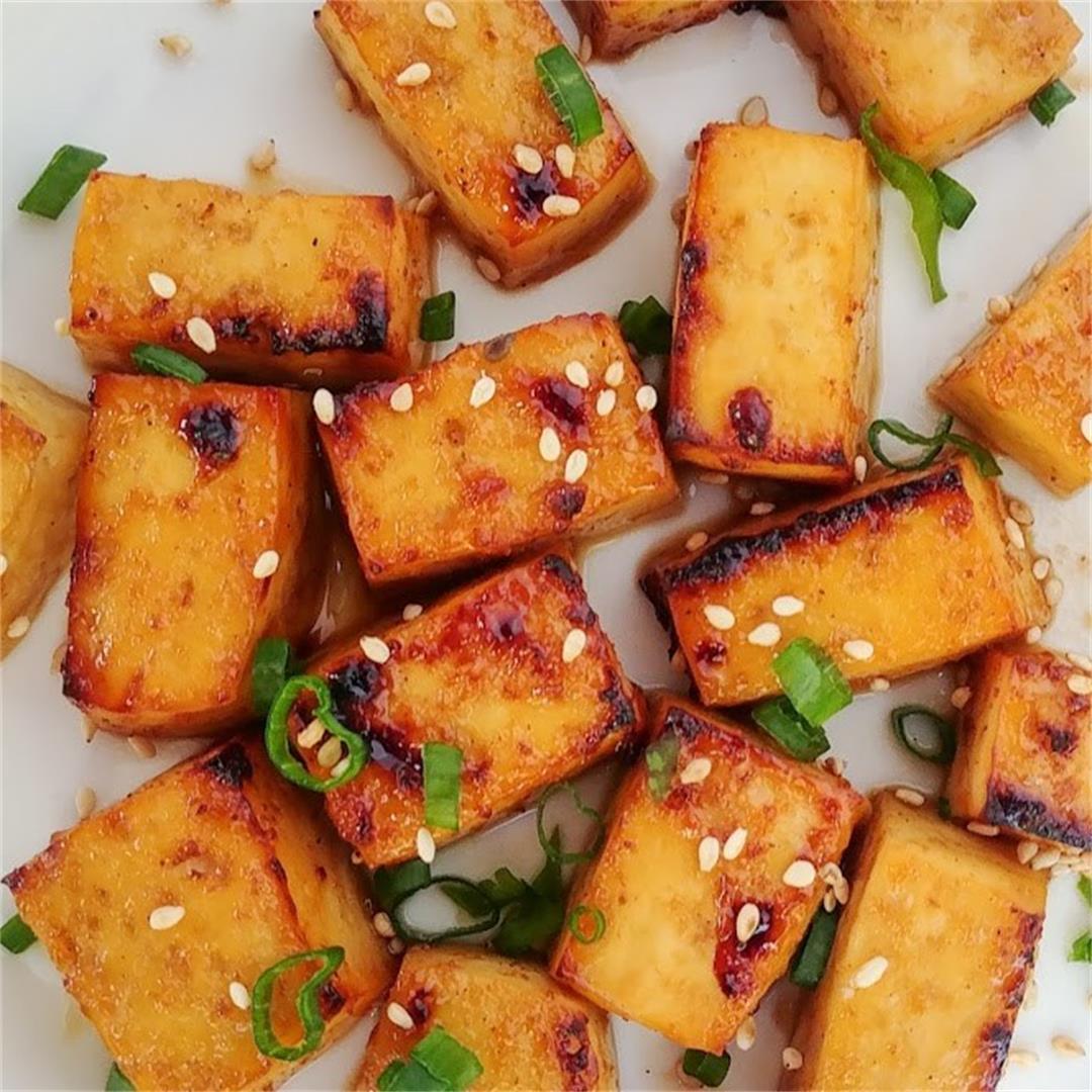 Marinated Korean BBQ Tofu