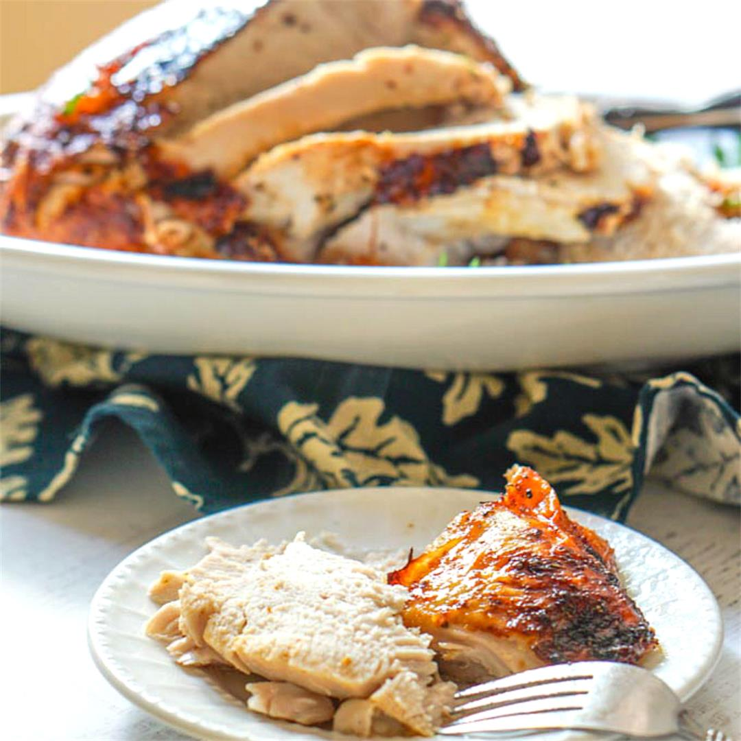Cooking Roasted Turkey Breast in the Air Fryer