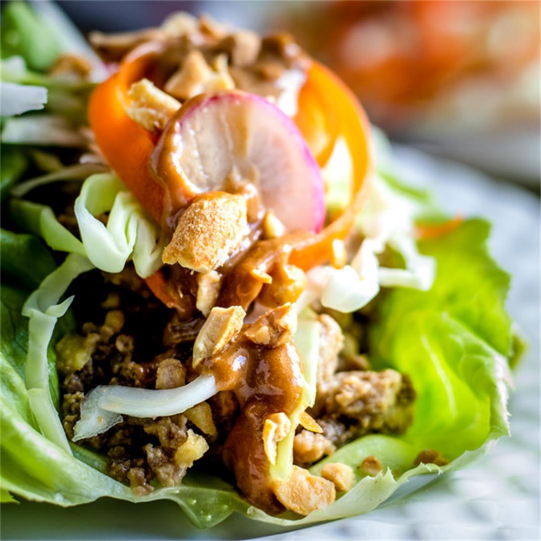 Best Thai Lettuce Wraps Recipe