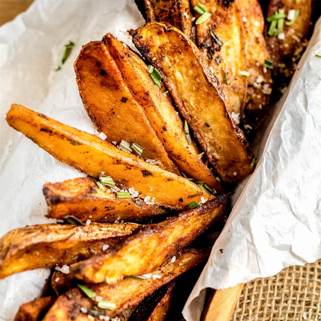 Crispy Oven Baked Fries Recipe