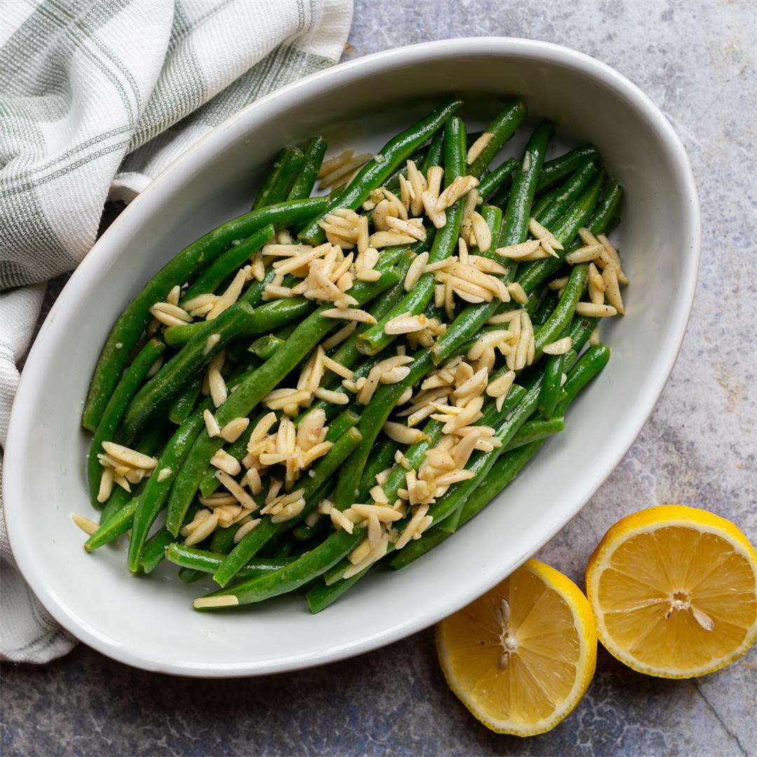 Green Beans Almondine (or Amandine)