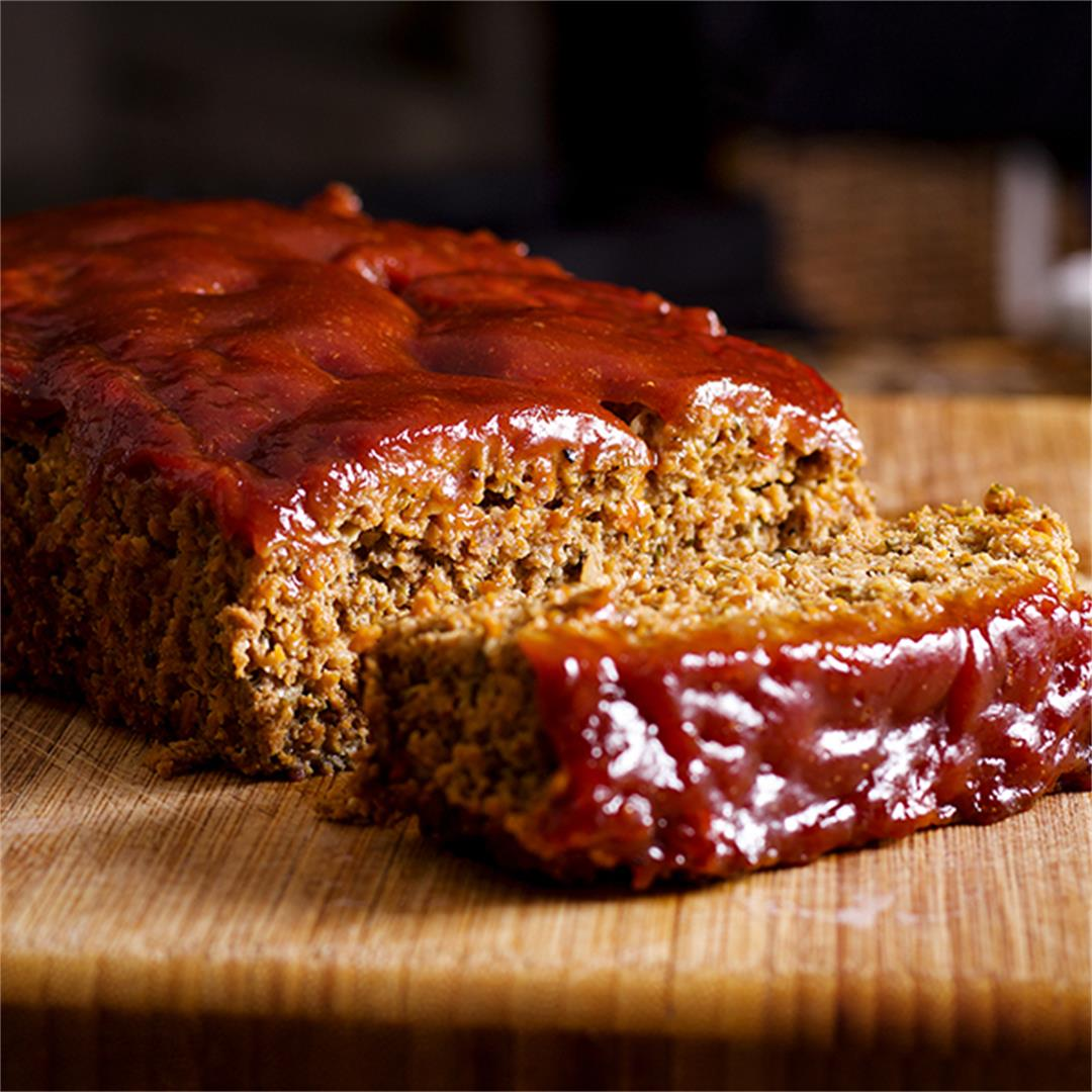 Classic Meatloaf {with Sausage}