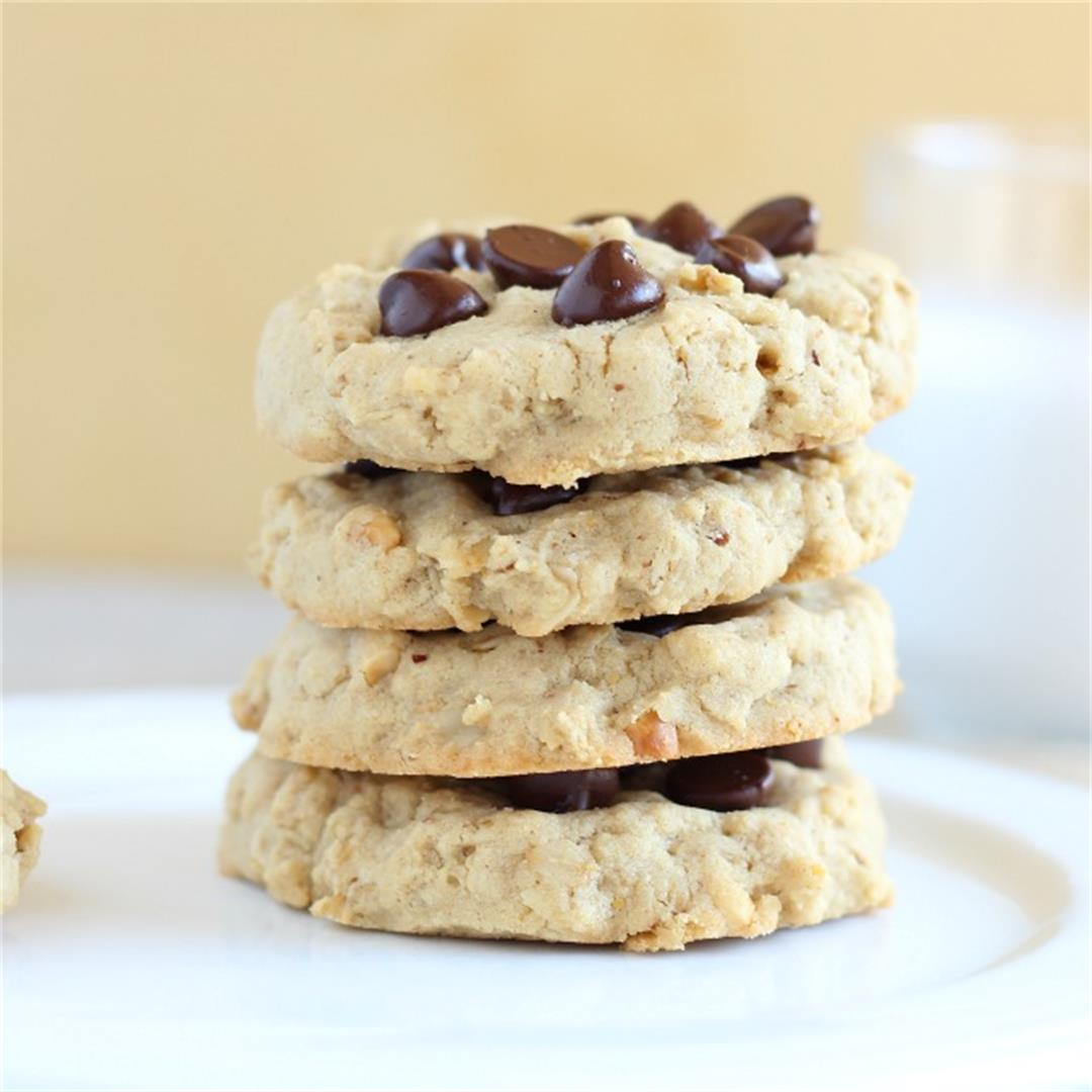 Rice Flour and Oatmeal Cookies