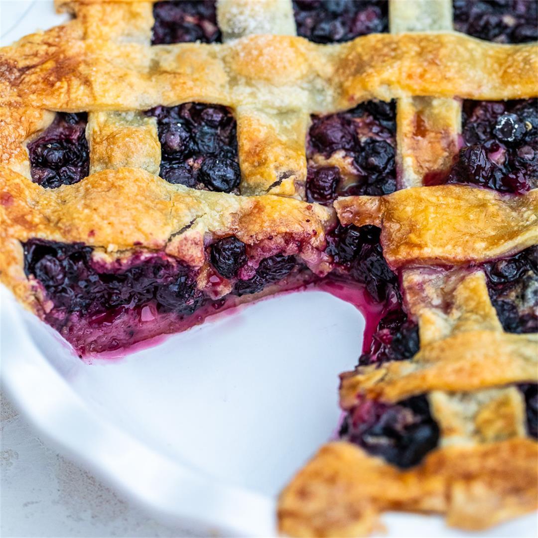 Classic Blueberry Pie [Video]