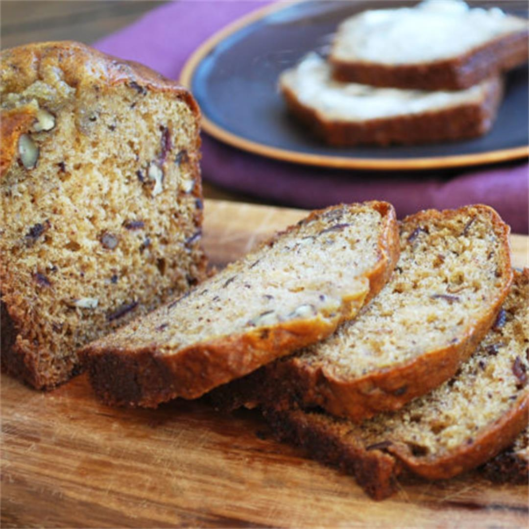 Old-Fashioned Date Nut Bread recipe
