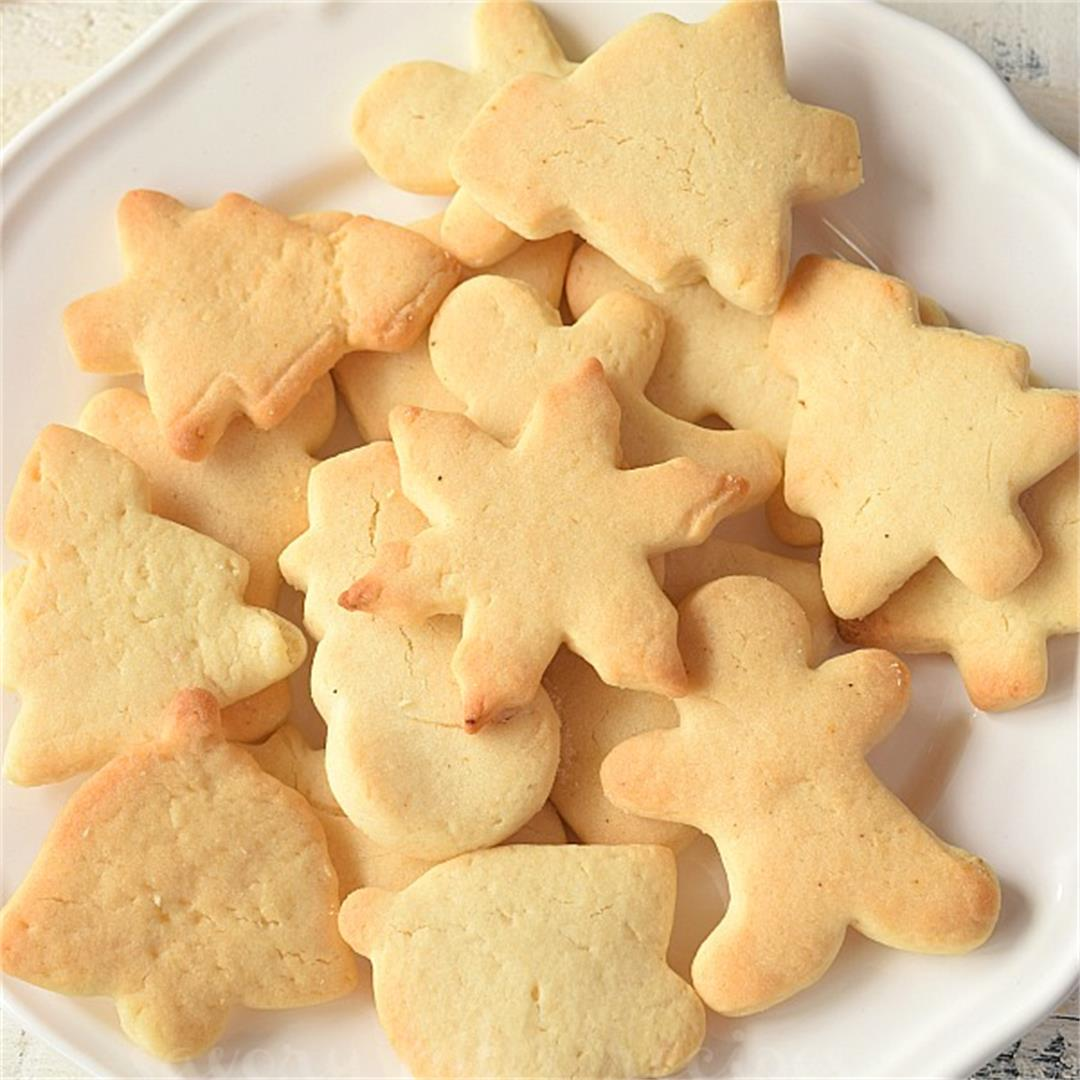 The Best No Chill Sugar Cookies {Best Cut Out Sugar Cookies}