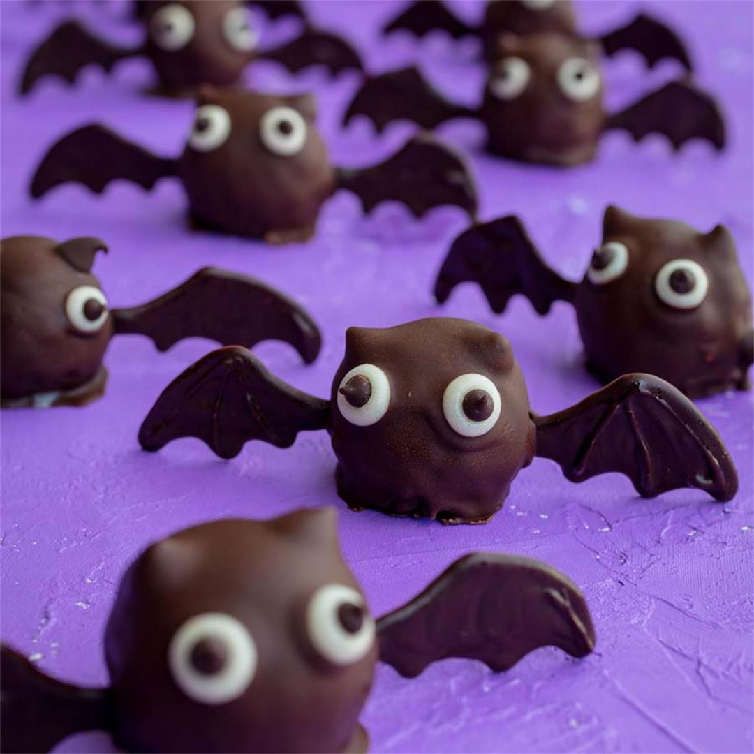 Vegan Bat Truffles