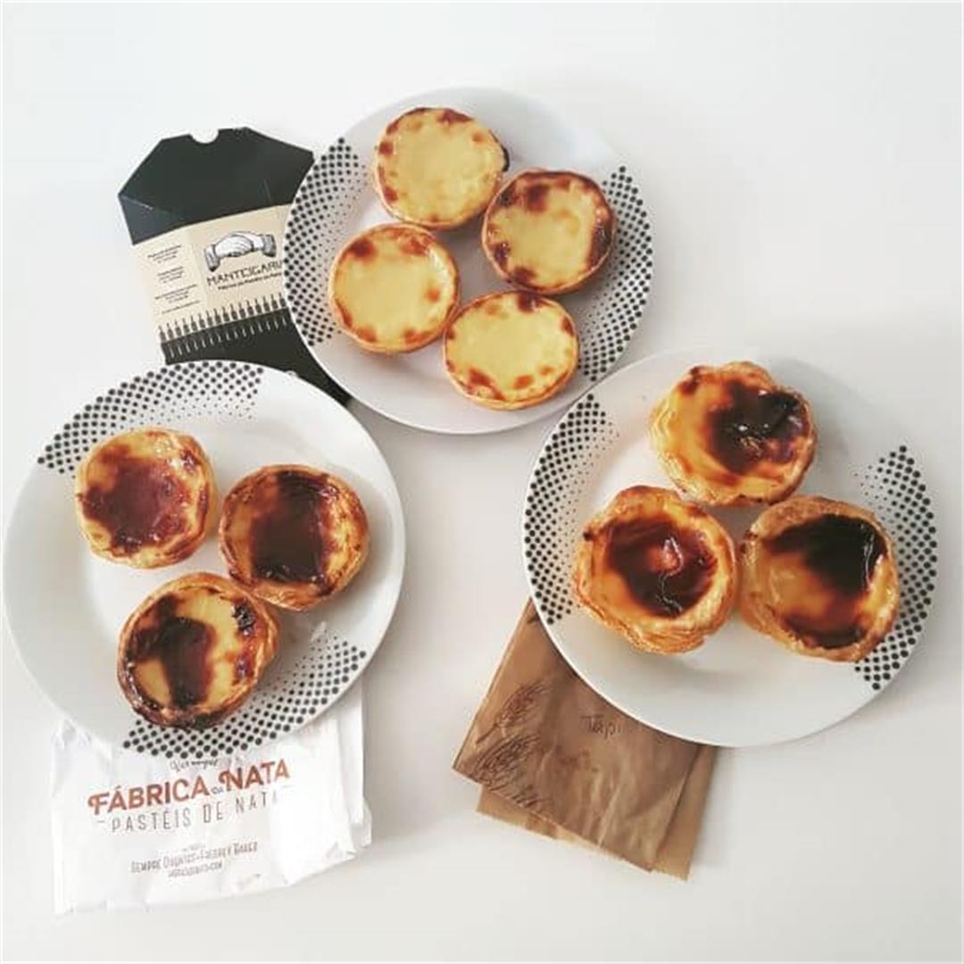 Pasteis de Nata AKA Portuguese Tarts