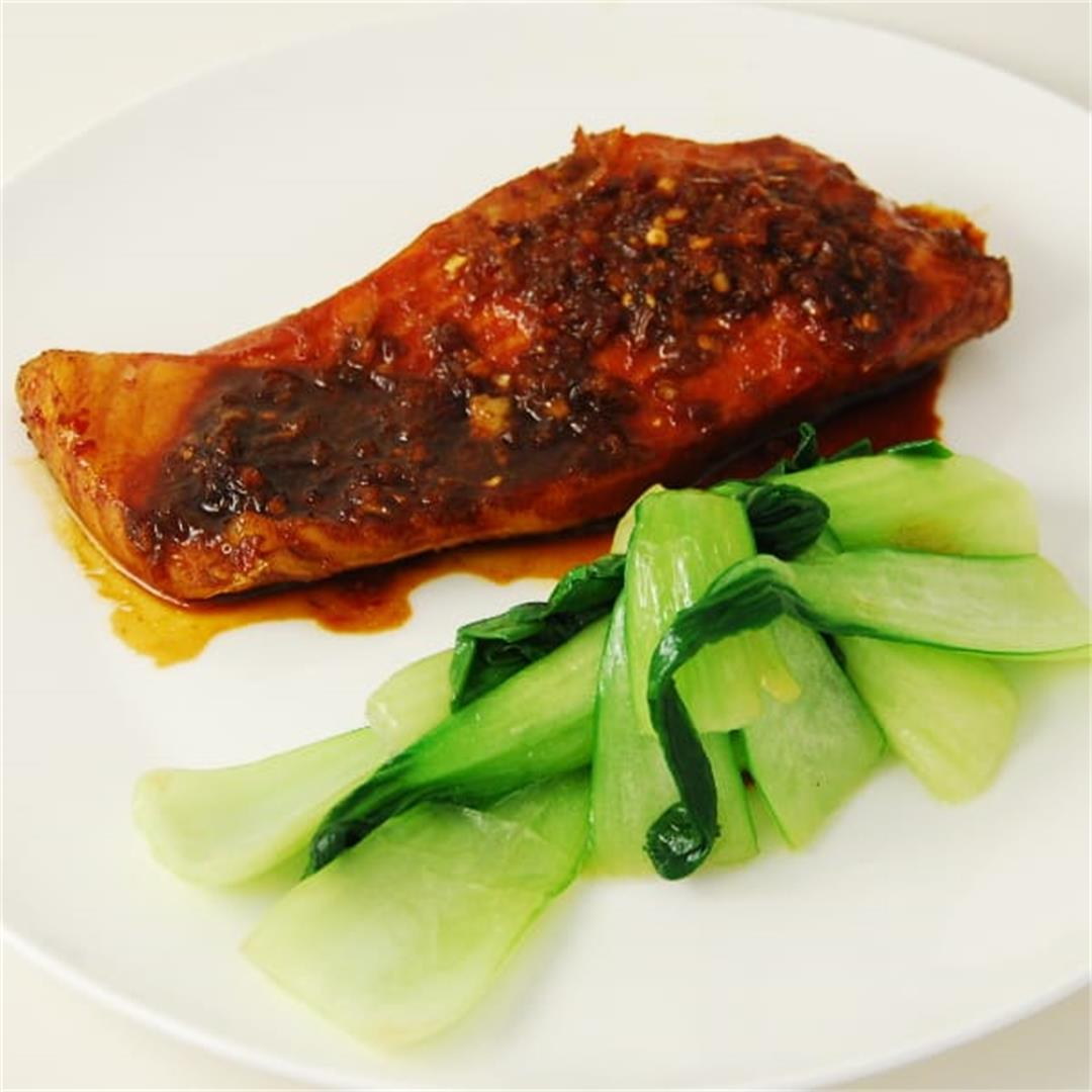 Kecap Manis & Lime Salmon Recipe