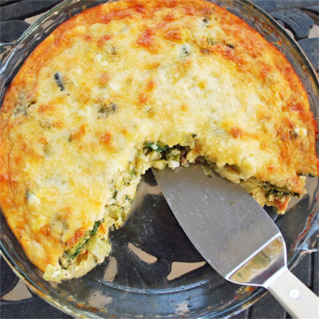 Favorite low-carb crustless quiche recipe