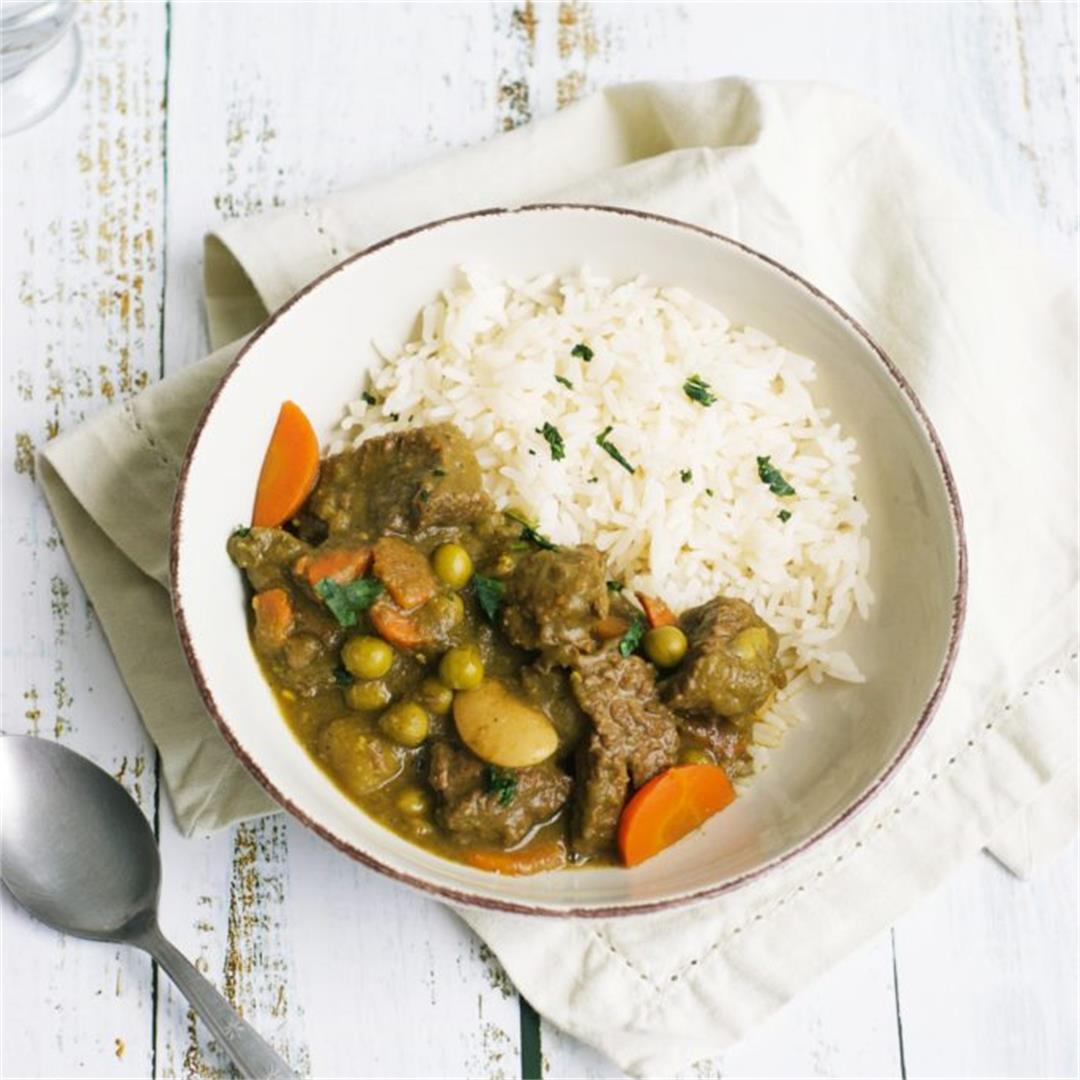 Cilantro Beef Stew (Peruvian Seco De Carne)