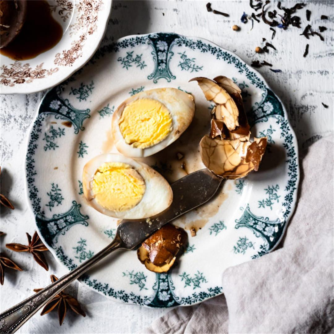 Chinese Tea Eggs - Cooking Therapy