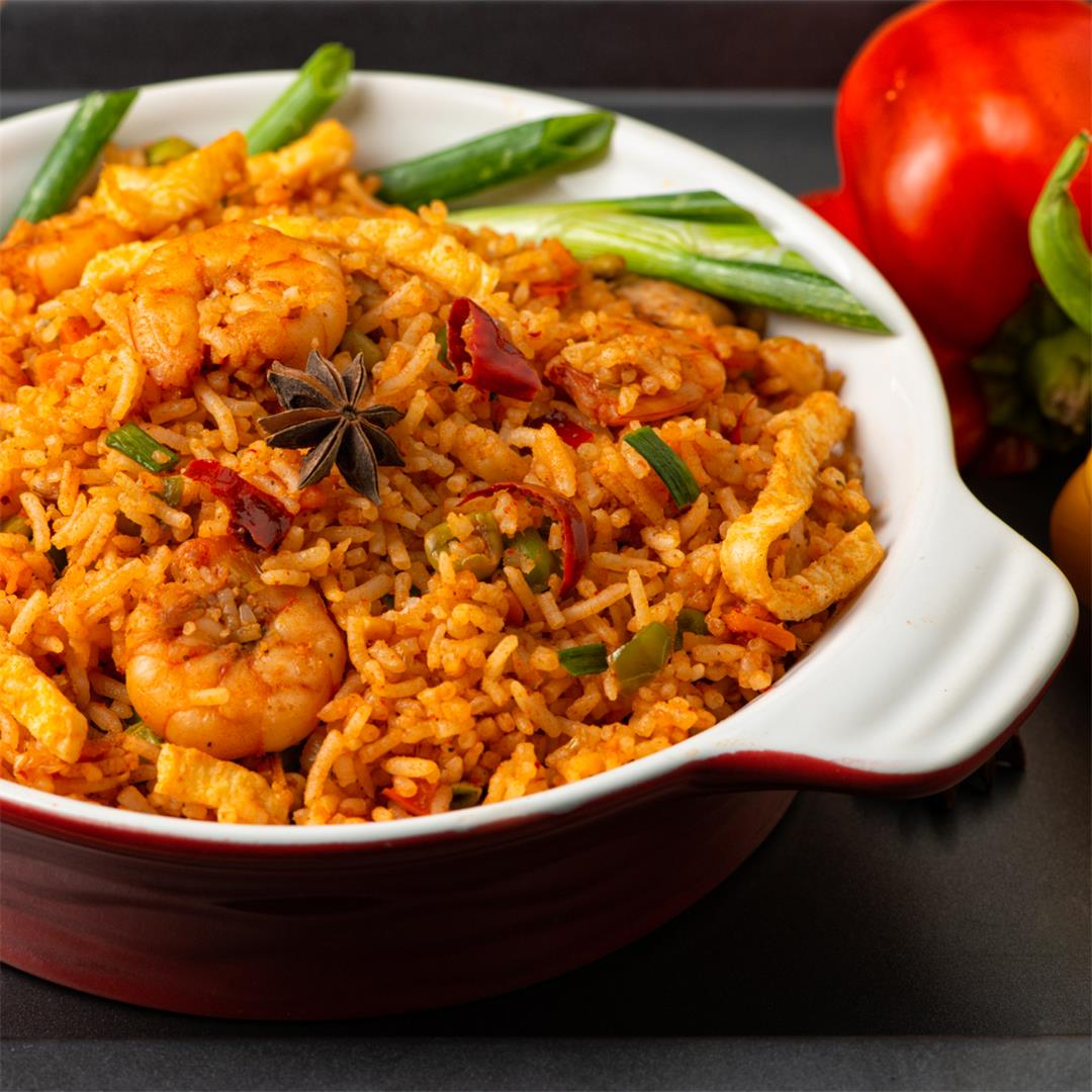Spicy Fried Rice / Spicy Chicken and Prawn Fried Rice
