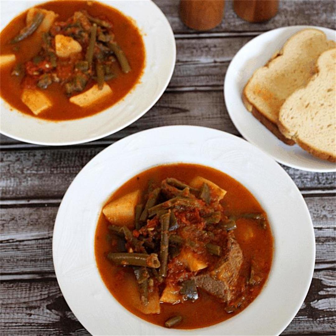 Green Beans Stew (Mashurka)