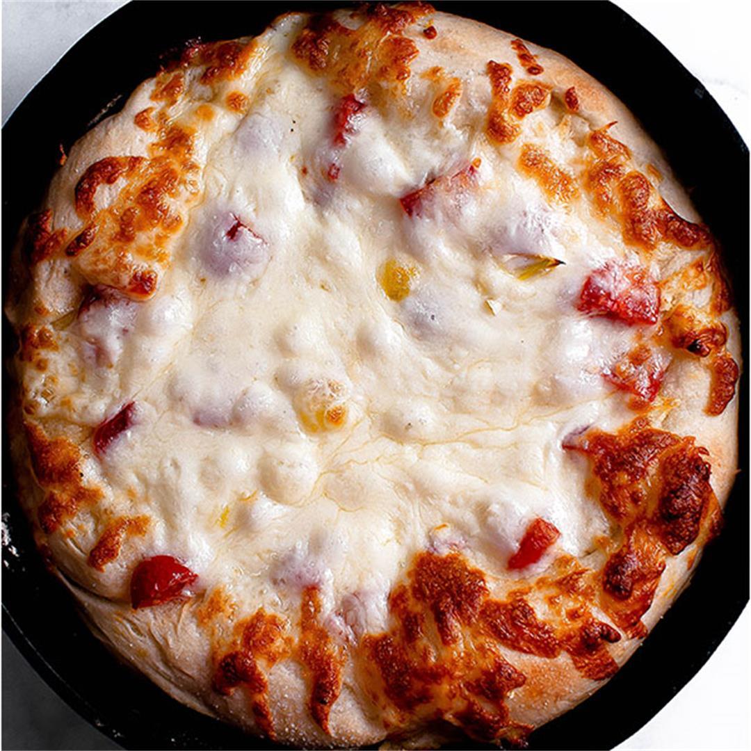 The Best Gluten Free Pizza Crust Recipe (Vegan)
