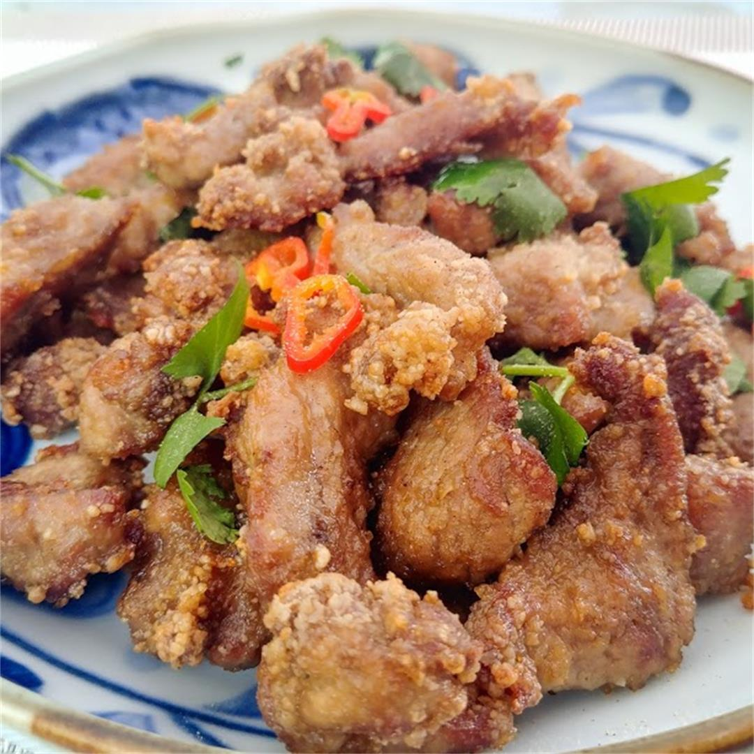 Five Spices Salt and Pepper Pork