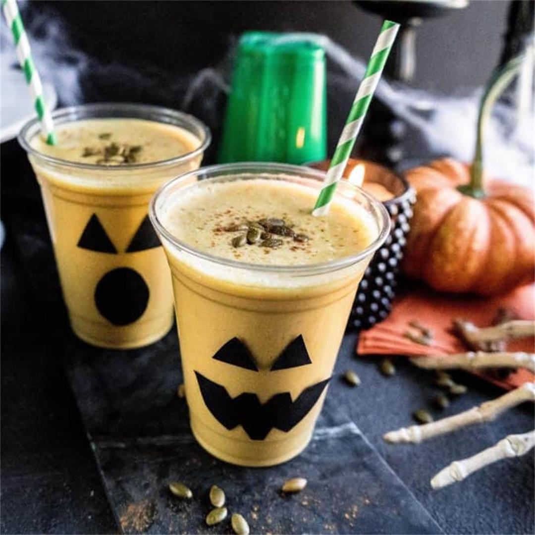 Jack-O-Lantern Pumpkin Smoothie