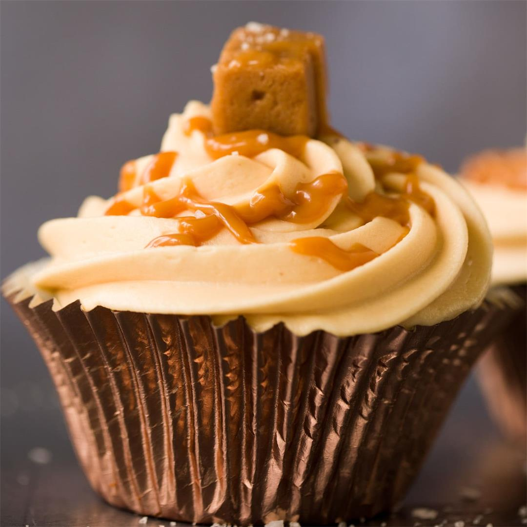 Incredible Salted Caramel Cupcakes