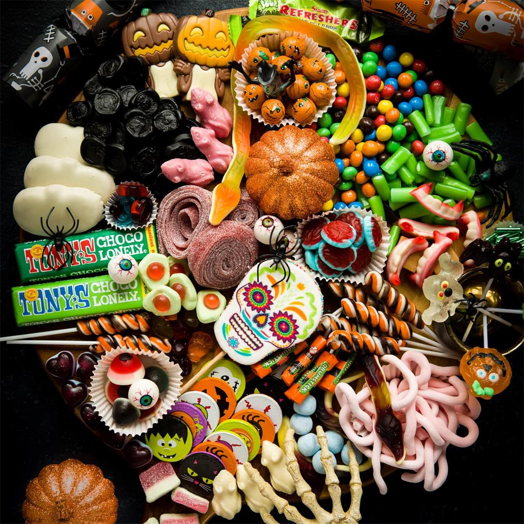 Halloween Treat Platter