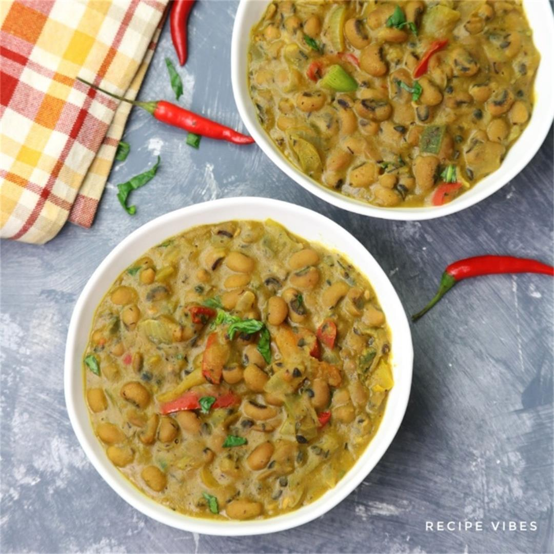 Curried Black Eyed Peas Recipe
