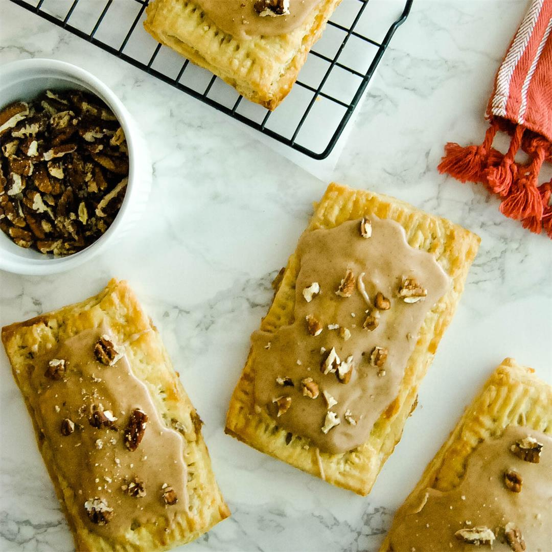 Brown Butter Pecan Pie Pop Tarts