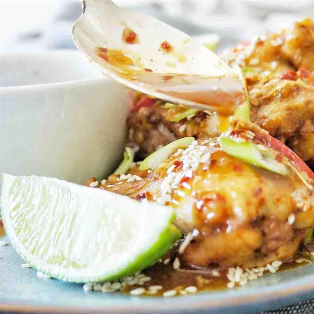 Chicken Wings Chilli Lime Marinade