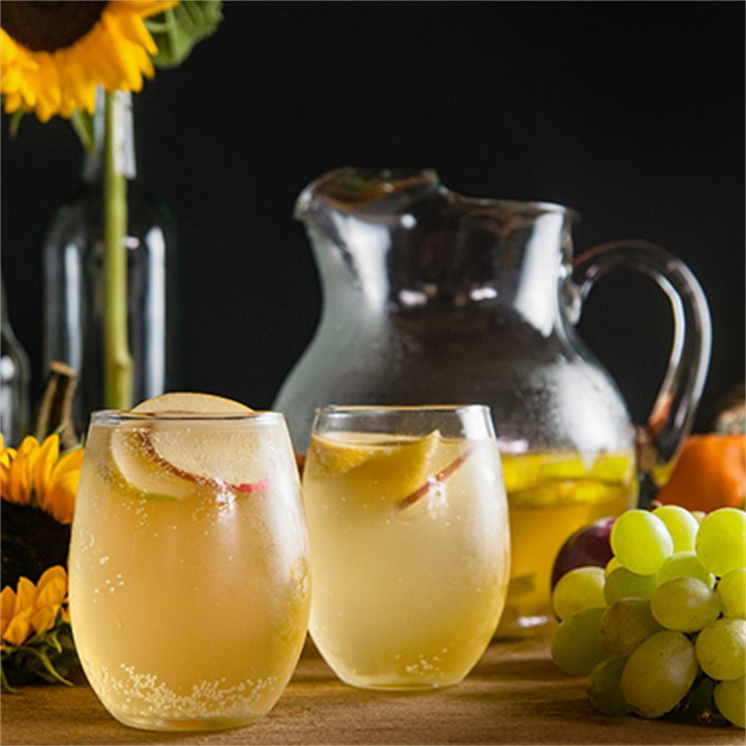 White Apple Cider Sangria