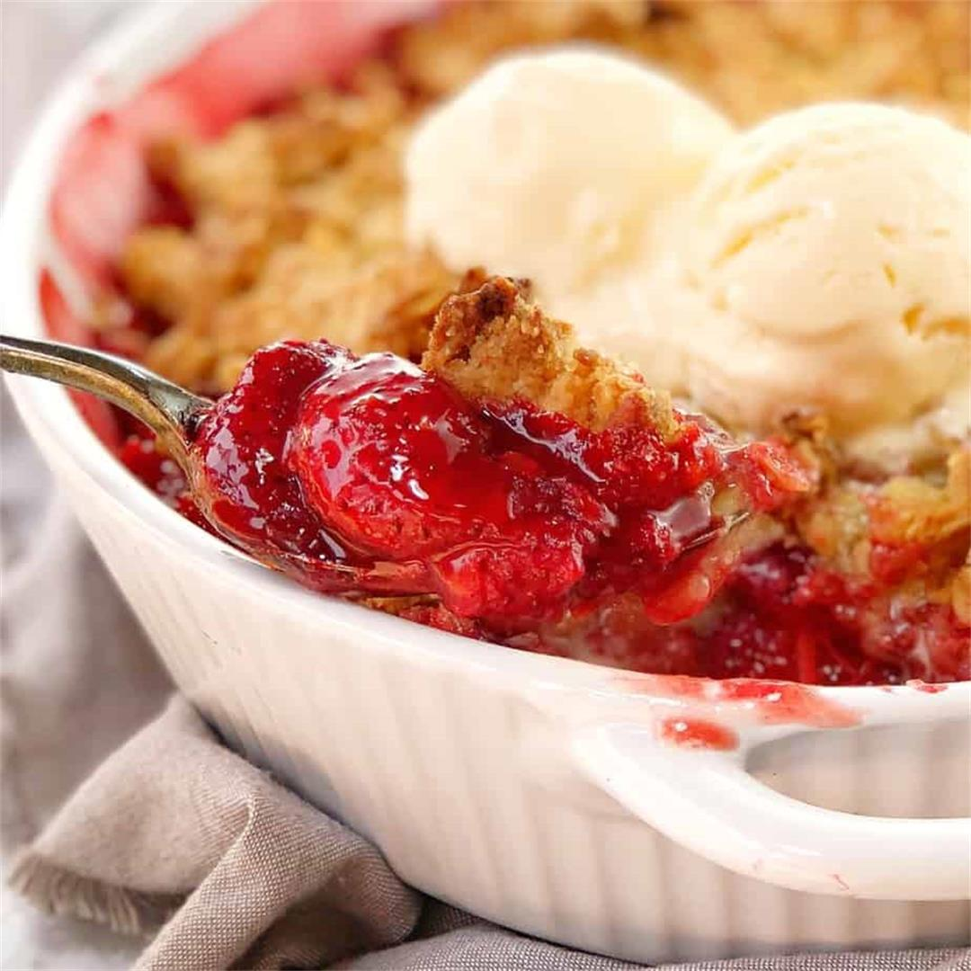 Strawberry Crumble · Chef Not Required...
