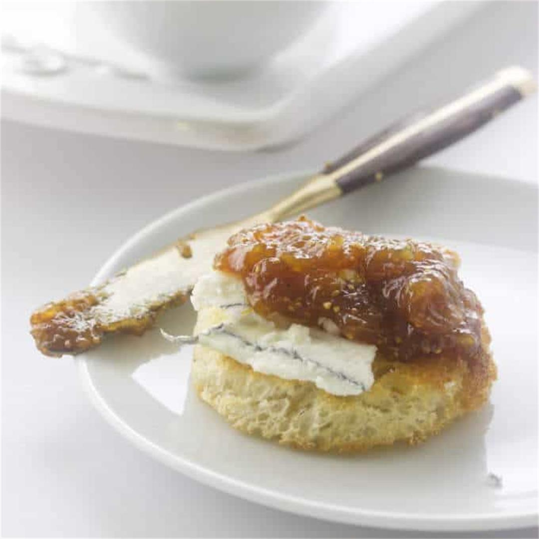 Fig Jam (with dried figs)