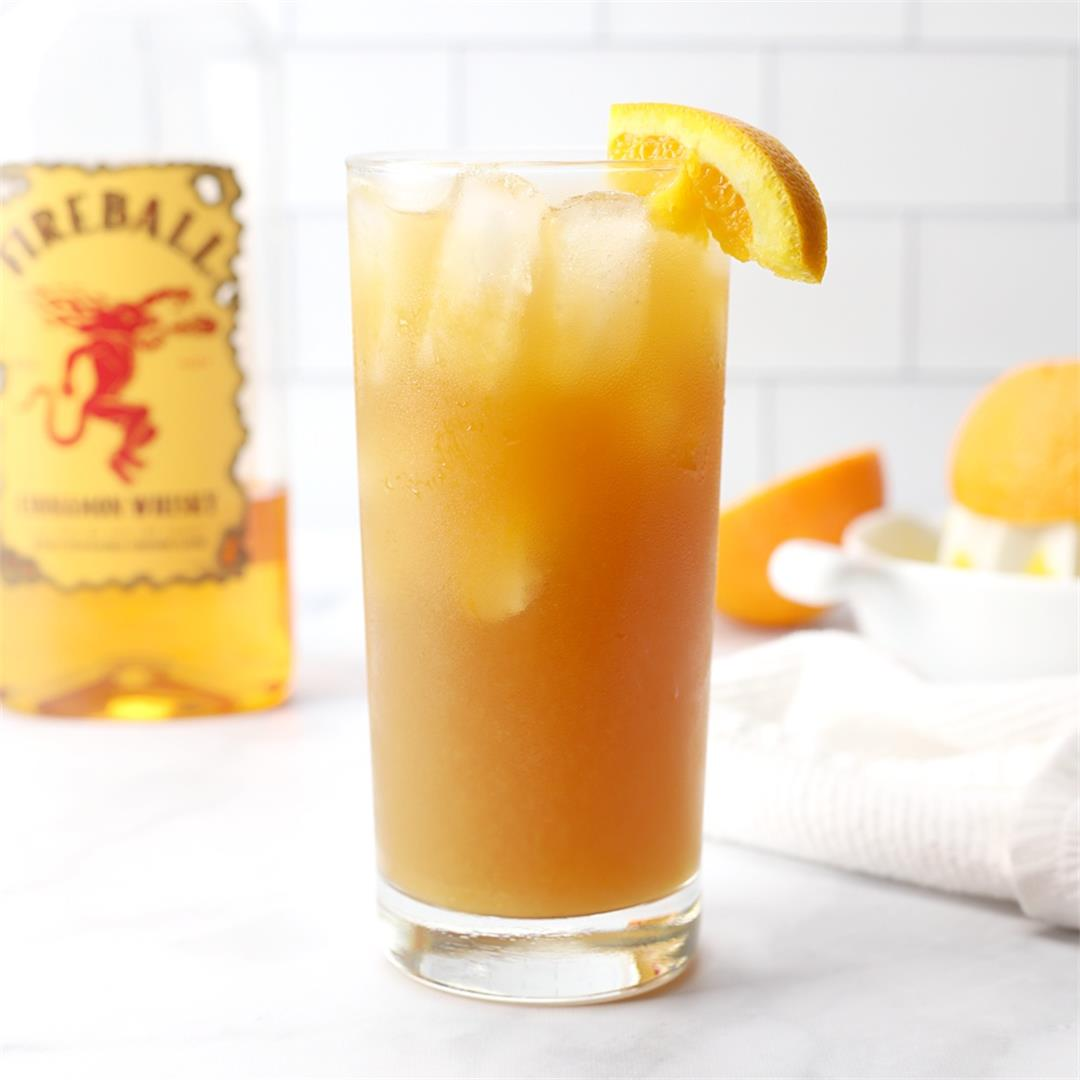 Fireball Orange Sweet Tea