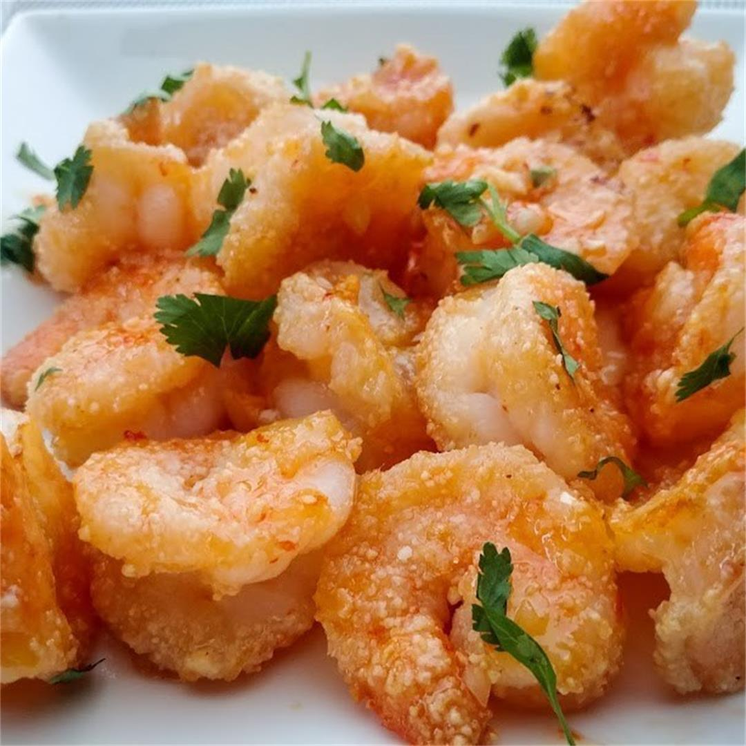 Thai Sweet Chili Garlic Shrimp