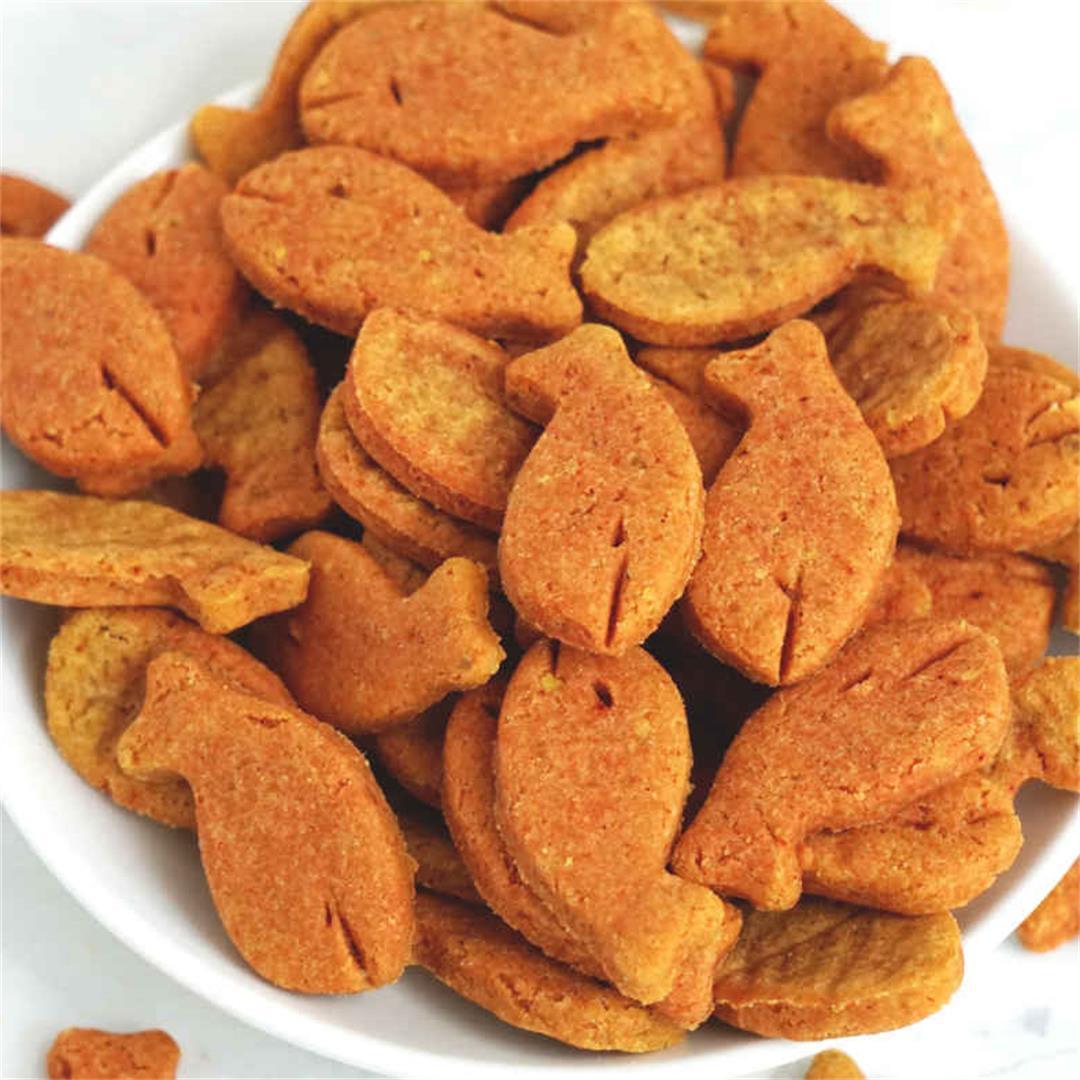 Gluten Free Goldfish Crackers (Dairy Free)