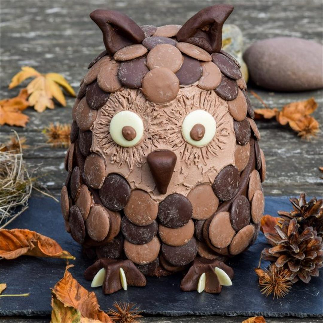 Halloween Treats: Nigel The Chocolate Orange Owl