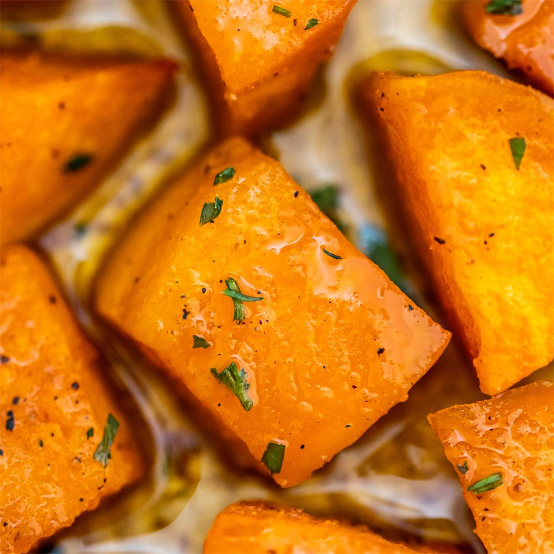 Roasted Sweet Potatoes Recipe [Video]