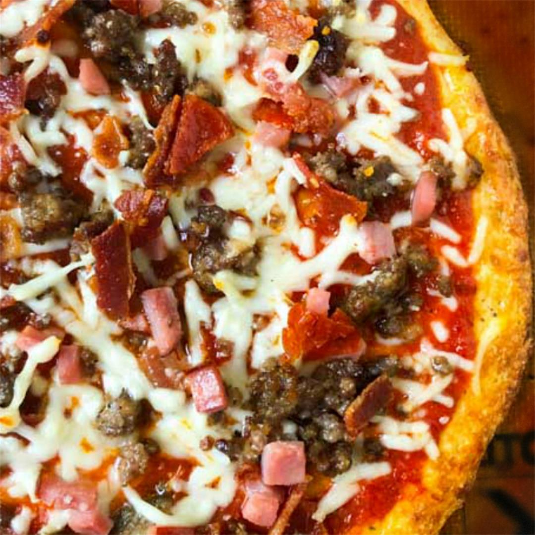 Meat Lovers Low Carb Pizza