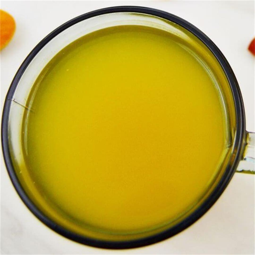 Turmeric Ginger Cinnamon Tea (Video Recipe)