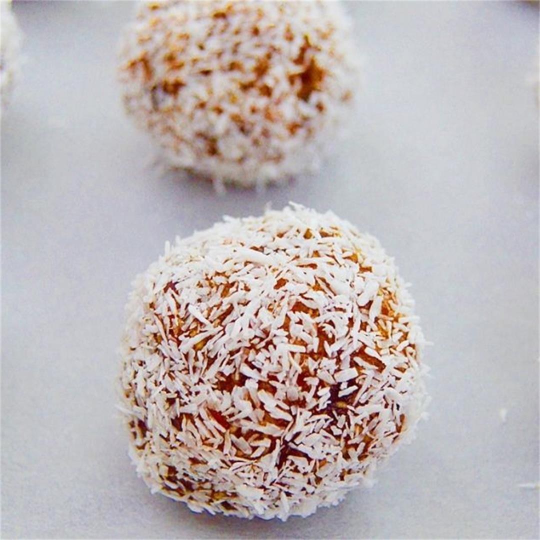Coconut Date Balls (Video Recipe)