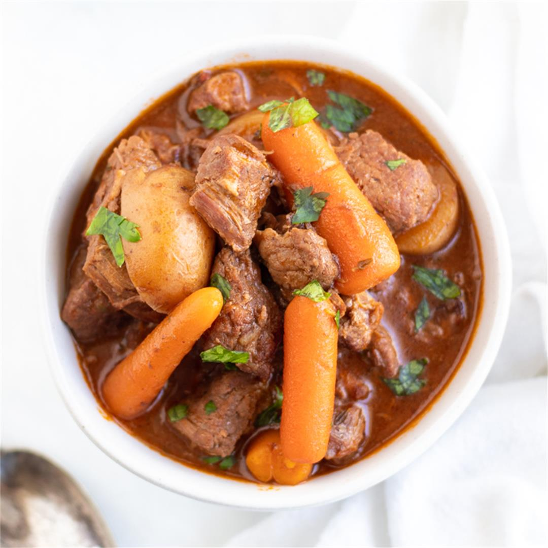 Low FODMAP Beef Stew (Slow Cooker or Instant Pot)