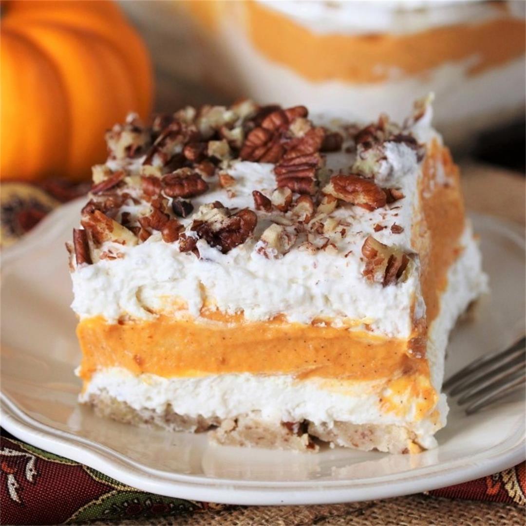 Pumpkin Yum Yum Dessert