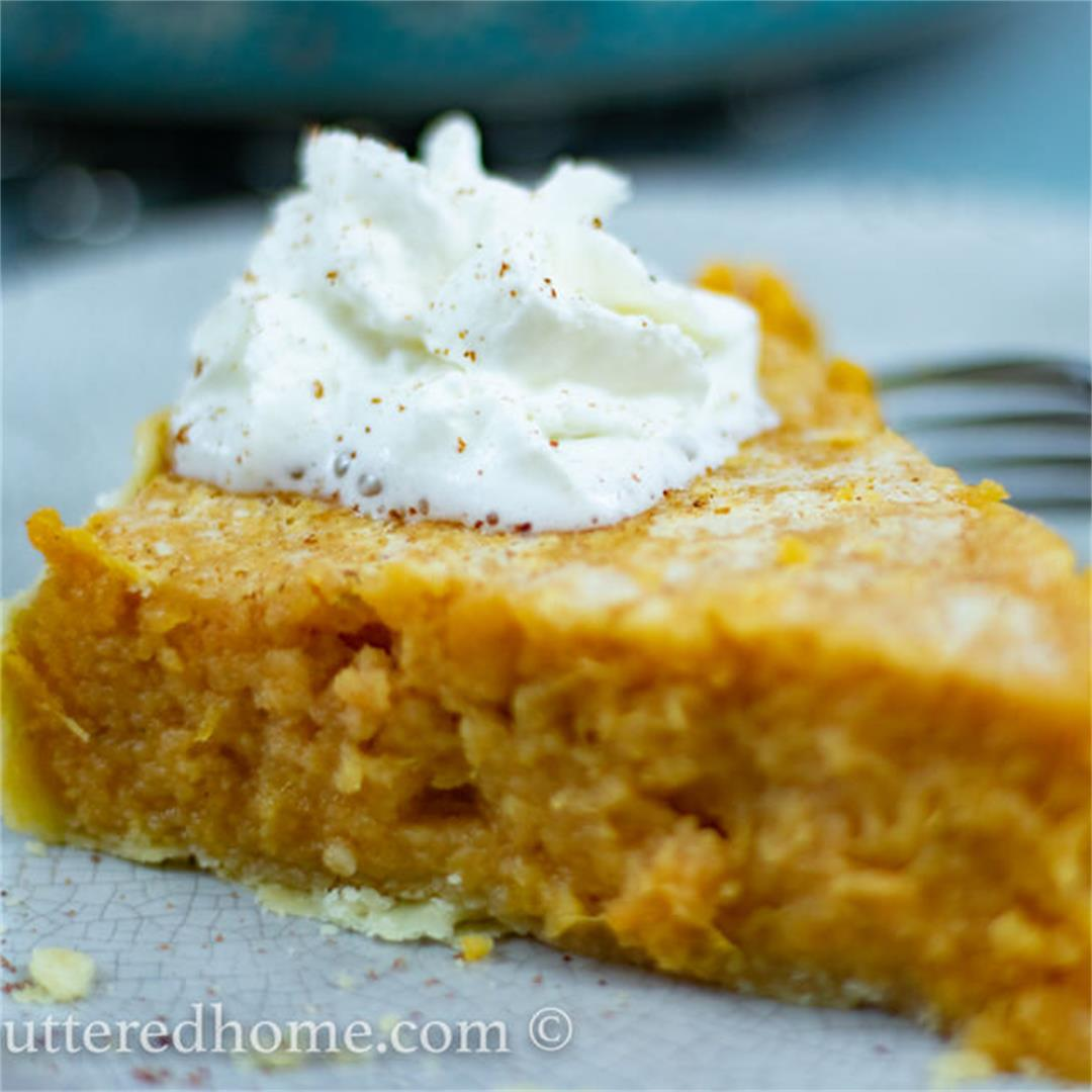 Sweet Potato Pie — The Buttered Home