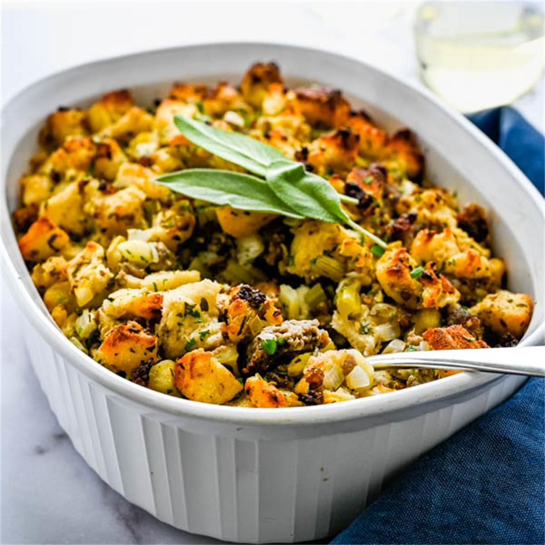 Sausage Fennel and Apple Stuffing